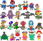 Sly and Friends -and Enemies-