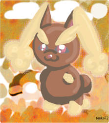 Lopunny by tenko72