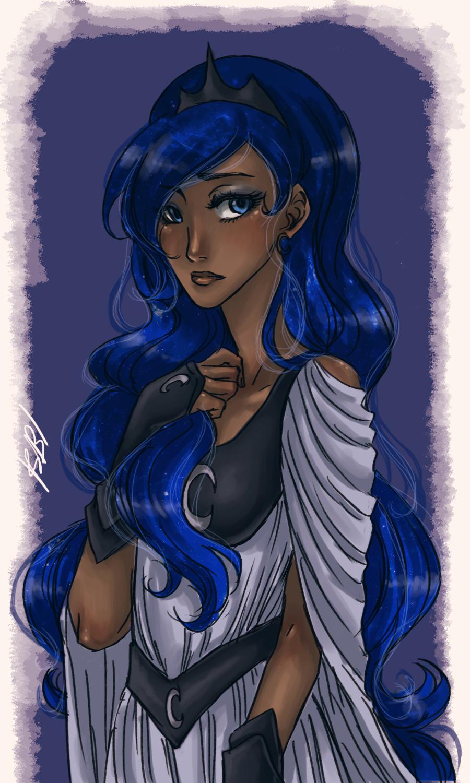 princess luna by mistix