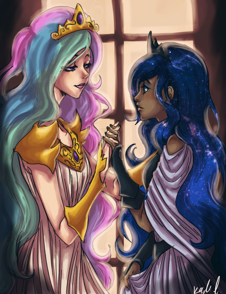 sun and moon by mistix