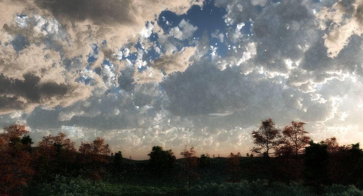 Cloud study 2 by Random007
