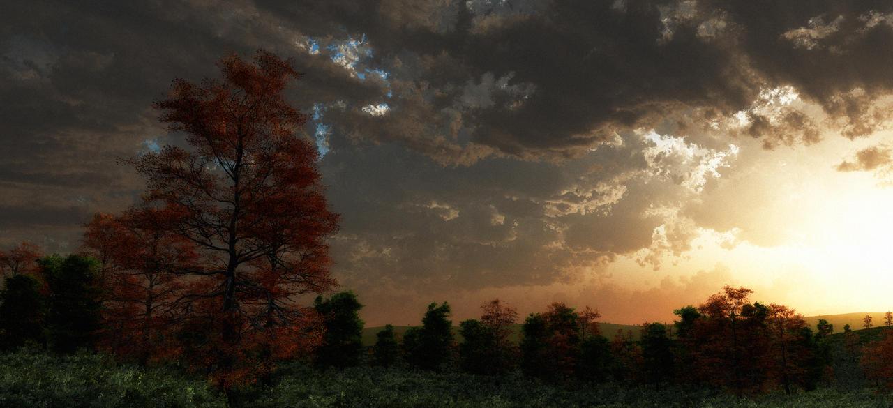 Cloud Study 4 by Random007
