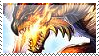 Rathalos stamp by 09Striker