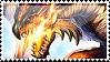 Rathalos stamp by 09Striker