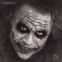 Why So Serious?, Pencils by MartinSchlierkamp