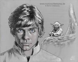 Jedi Apprentice by MartinSchlierkamp