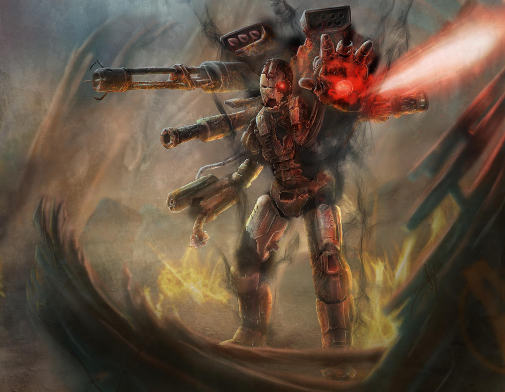 Possessed War Machine by Yggdrassal