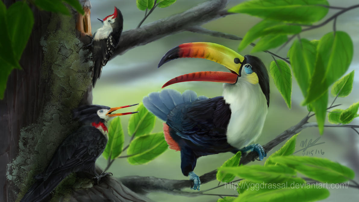 Toucannon by Yggdrassal