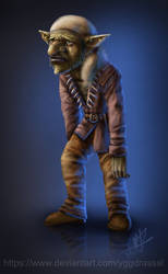 Ted the Goblin by Yggdrassal