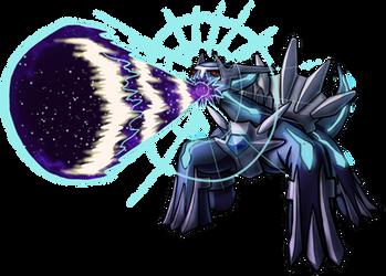 Dialga Roar of Time by Yggdrassal