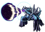 Dialga Roar of Time by Yggdrassal