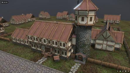The Sweet Dragon Tavern by Yggdrassal