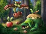 Apple Dragons