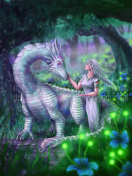 Elf and Opal Drake