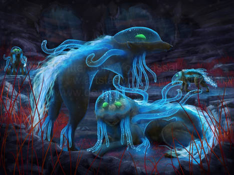 Twilight Cave Wolves
