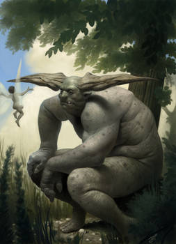 The fairy and the troll