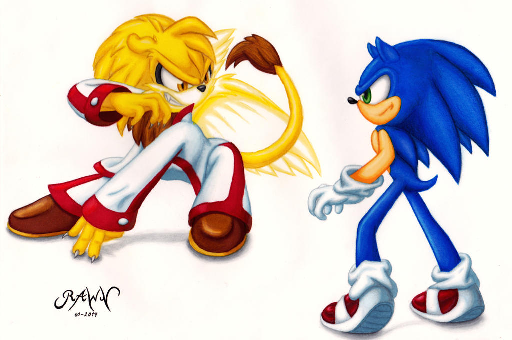 :Commission: Sonic and Zertax by RAWN89