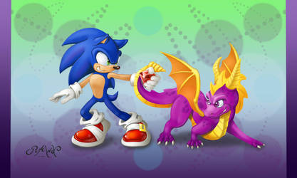Sonic and Spyro