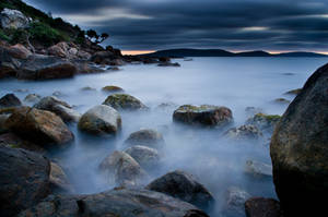 On The Rocks Before Dawn.