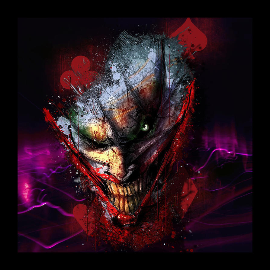 Joker Abstract By RonoaDJoker On DeviantArt