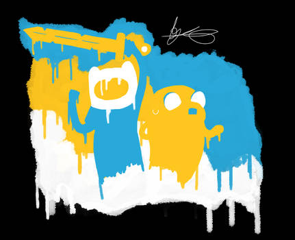 Finn and Jake (3 colour challenge) [UPDATED]