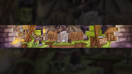 [C] SmallishBeans Youtube Banner