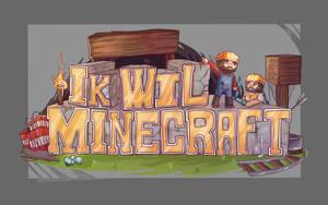 [C] Ik Wil Minecraft Logo