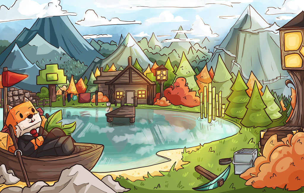 [C] Squishycraft Background