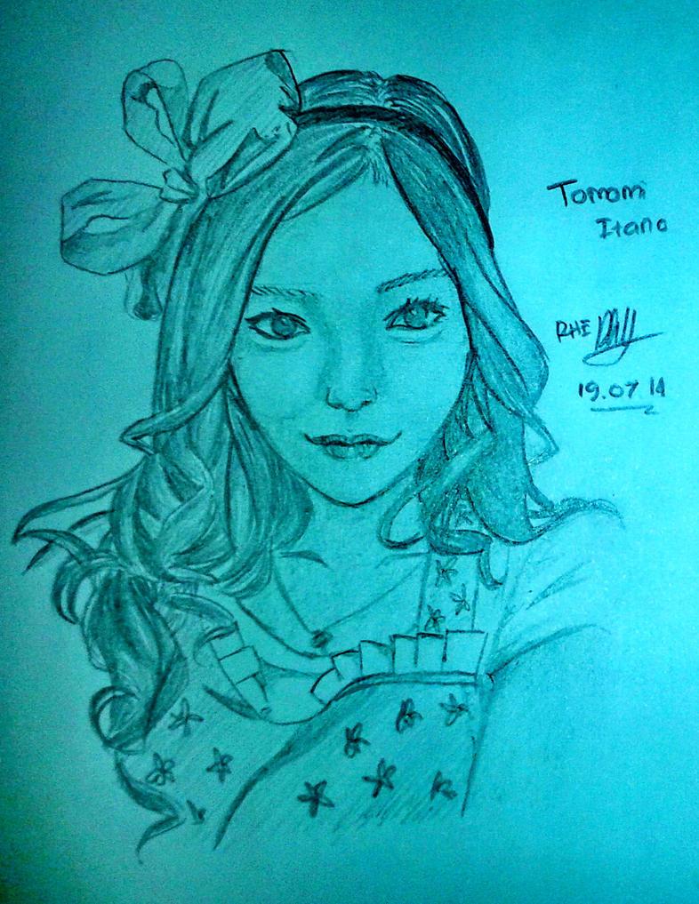 Tomomi Itano by RennaLynix
