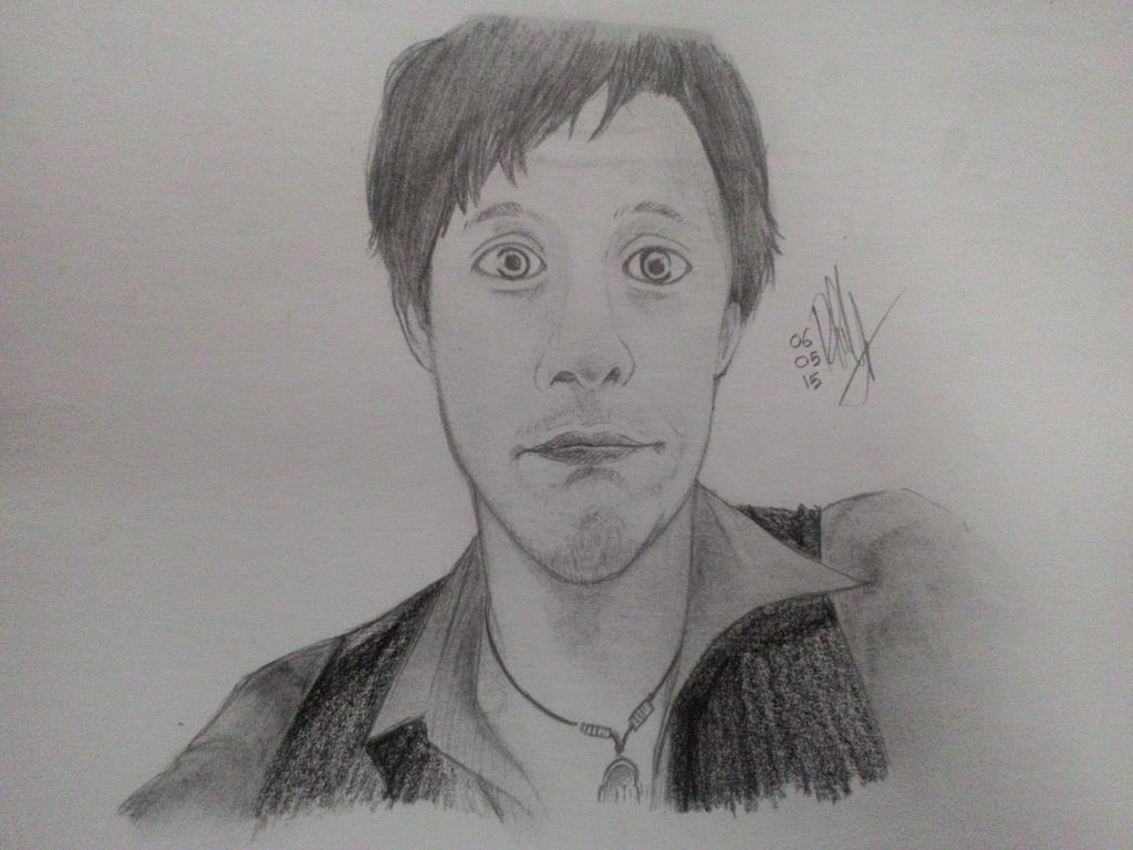 A drawing of Kurt Hugo Schneider by RennaLynix