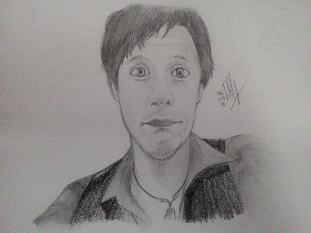 A drawing of Kurt Hugo Schneider by RennaLynix