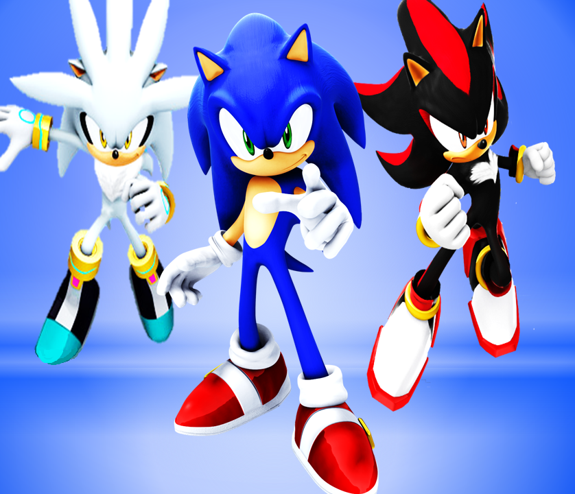 Sonic Shadow And Silver By 9029561