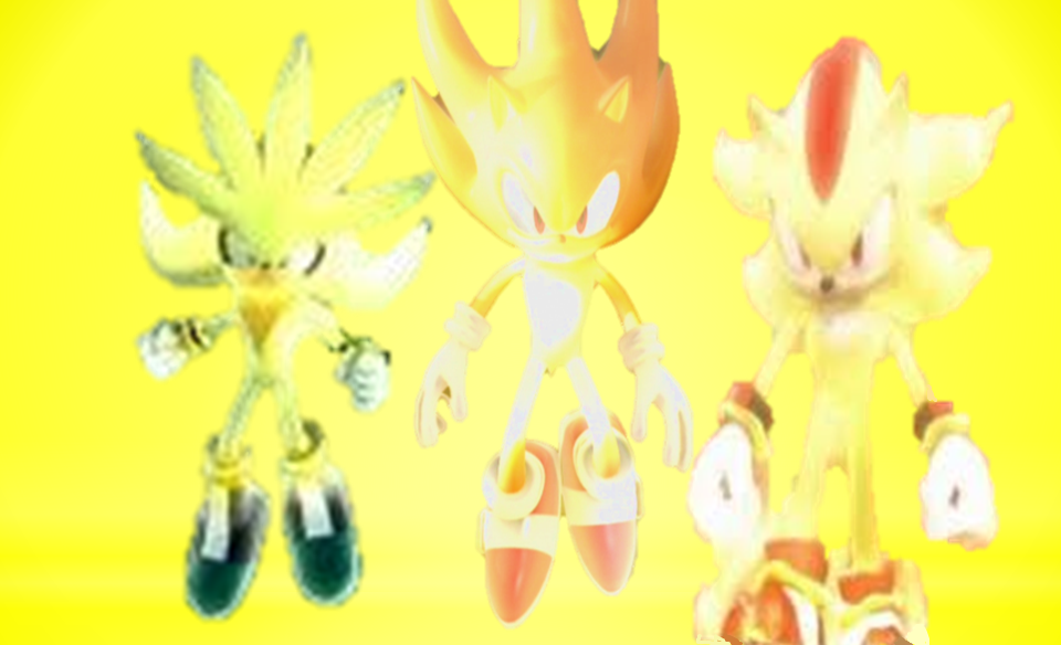 Super Sonic Super Shadow and Super Silver by 9029561 on ...