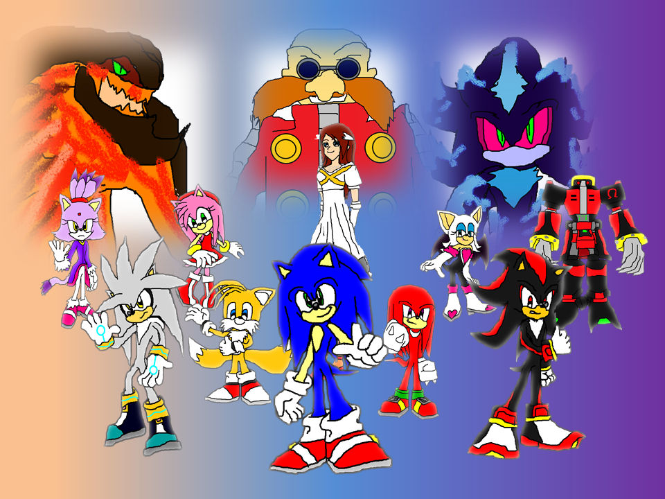 Sonic The Hedgehog 2006 Wallpaper By 9029561 On Deviantart