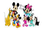 Disney's Mickey, Minnie and their Family.