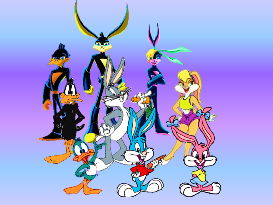 Tiny Toons, Looney Tunes, and Loonatics. by 9029561