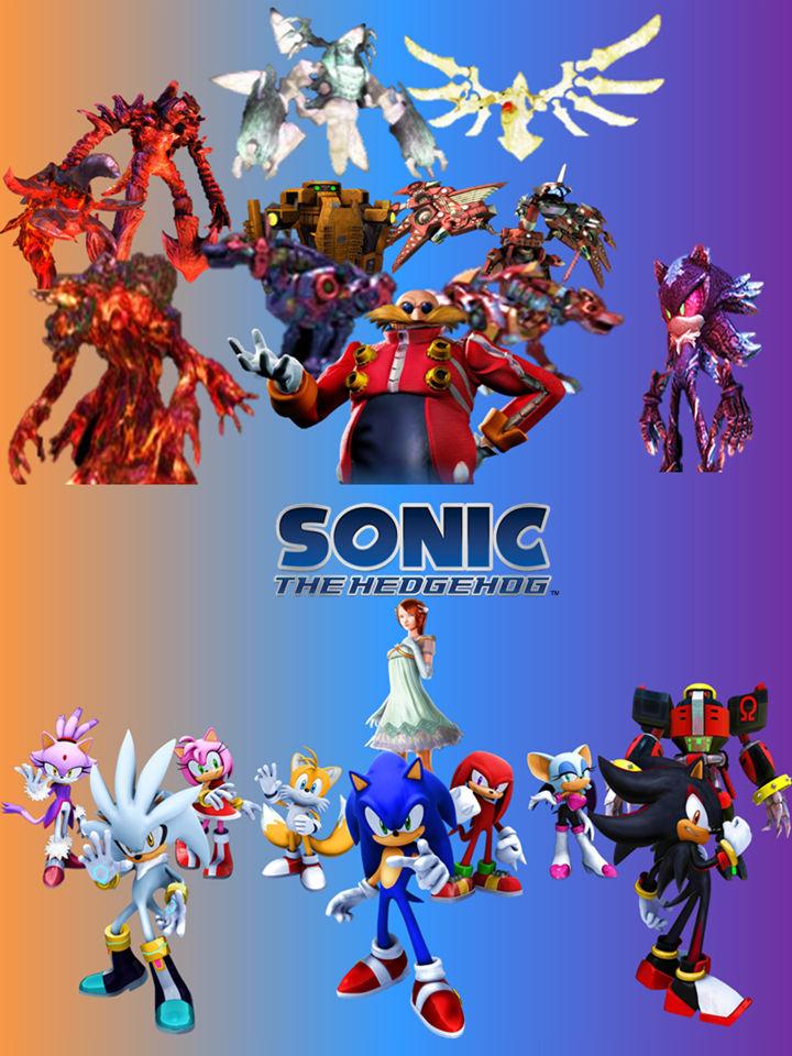Sonic The Hedgehog 2006 Wallpaper V2 By 9029561 On Deviantart