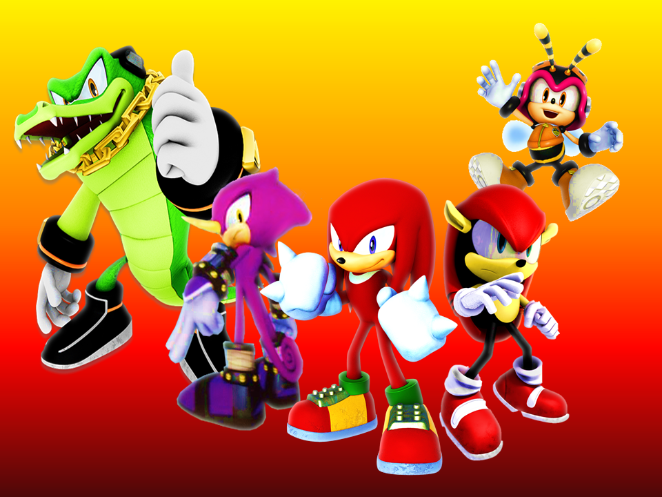 Knuckles Chaotix Wallpaper V2 by 9029561 on DeviantArt