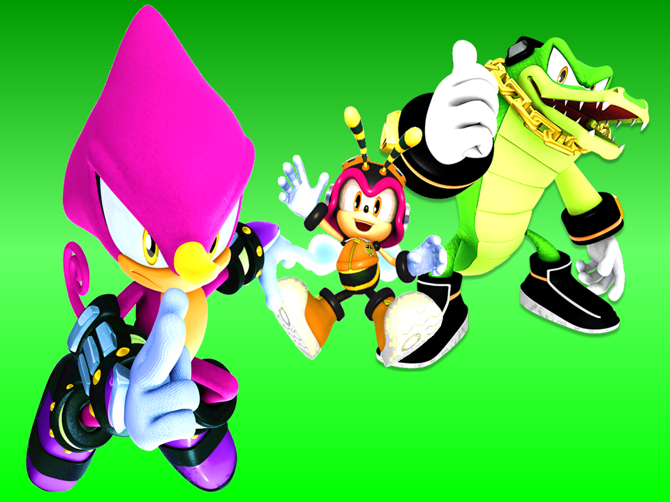 Team Chaotix Wallpaper by 9029561 on deviantART