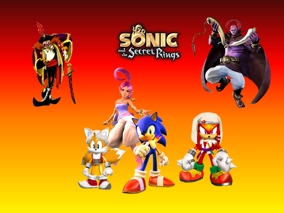 Sonic and the Secret Rings Wallpaper