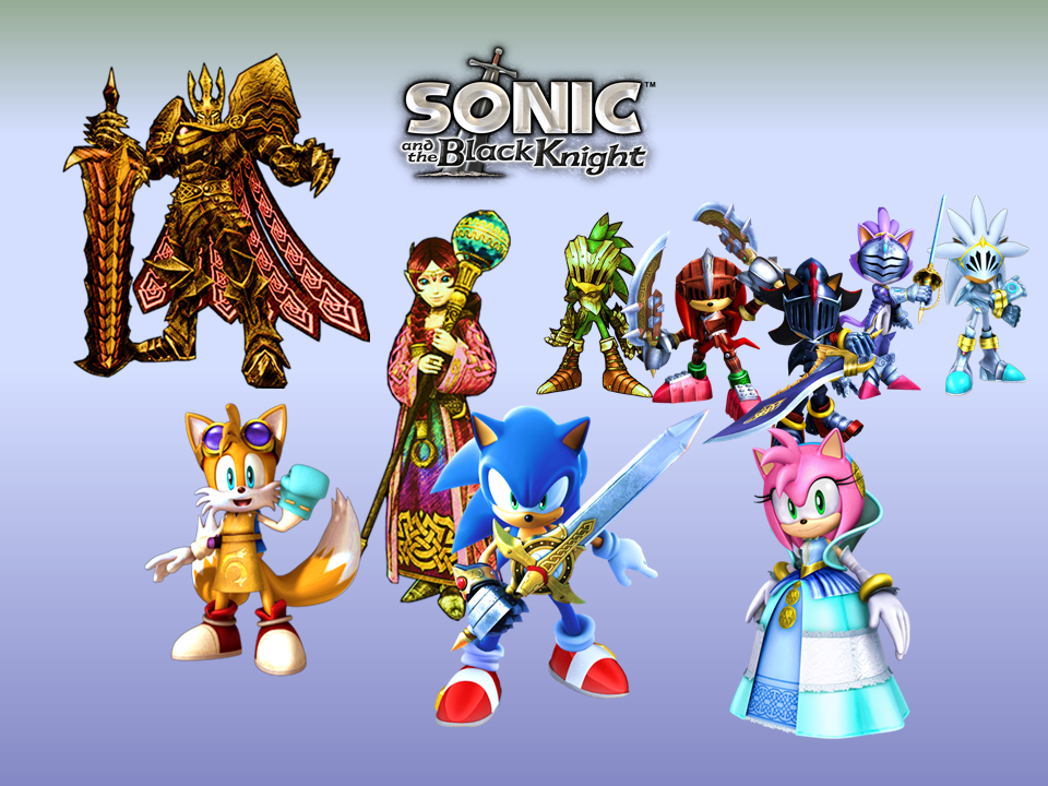 Sonic And The Black Knight Wallpaper By 9029561