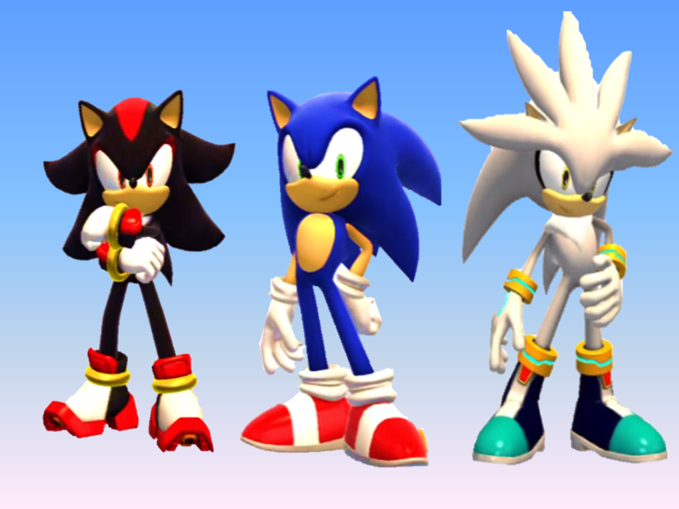 Opinion the sonic shadow and silver as girls more than