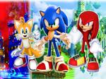 Team Sonic Heroes Wallpaper V2