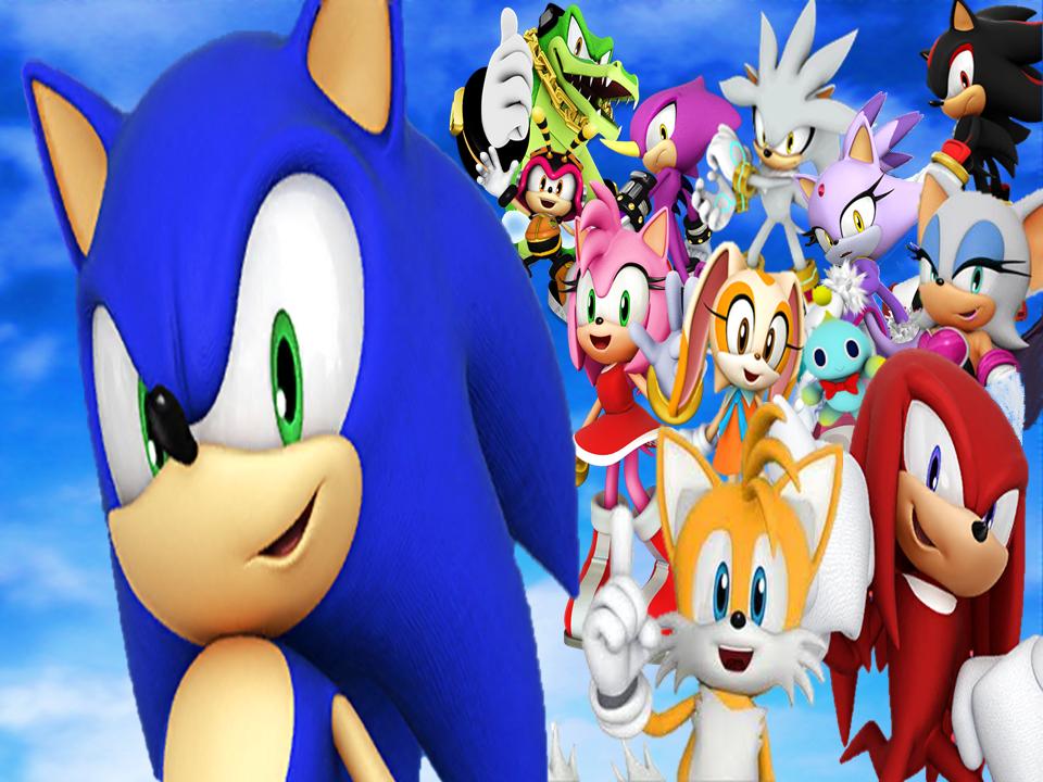 Modern Sonic Generations Wallpaper By 9029561 On Deviantart