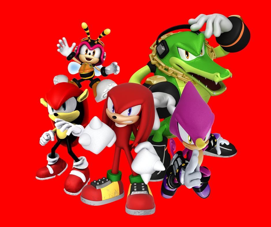Knuckles Chaotix Wallpaper V3 by 9029561 on DeviantArt