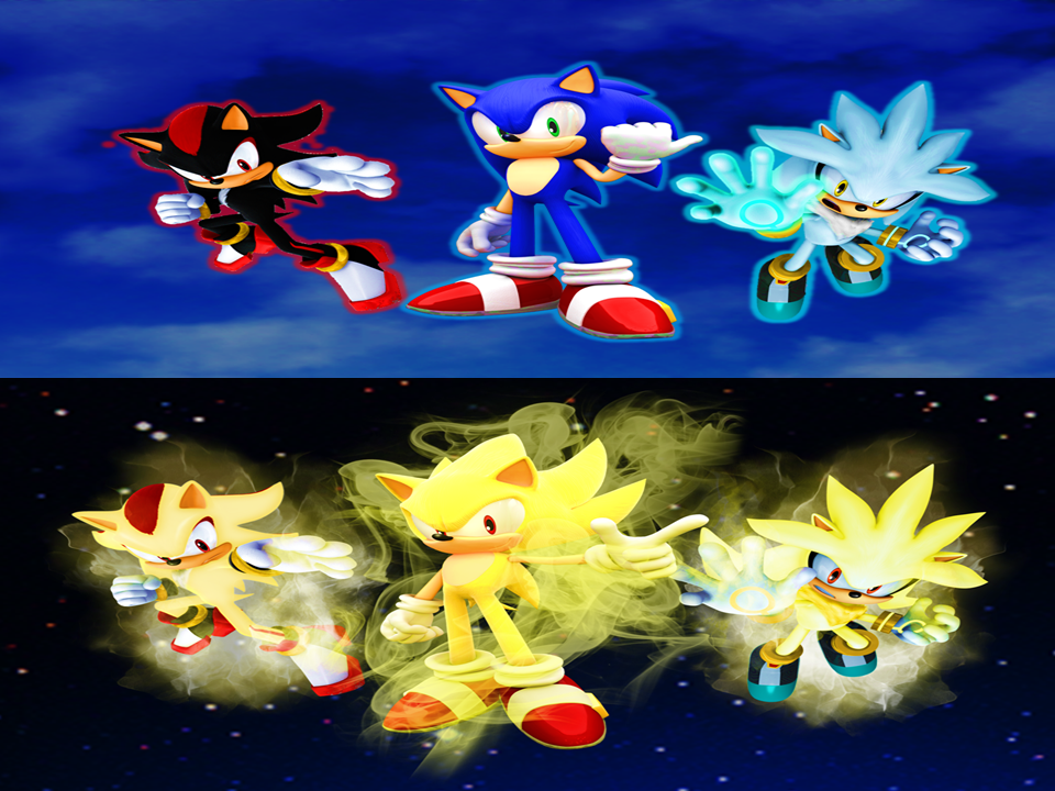 Sonic Shadow And Silver Wallpaper Final Extra By 9029561