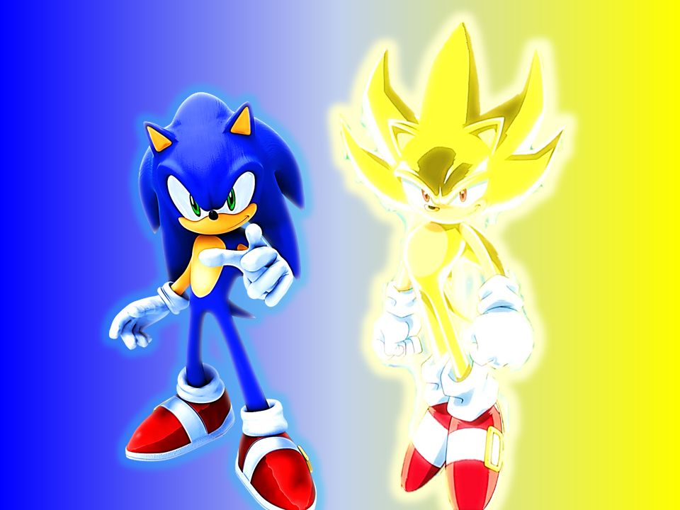 Sonic and super sonic by 9029561 on deviantart - Super sonic 6 ...