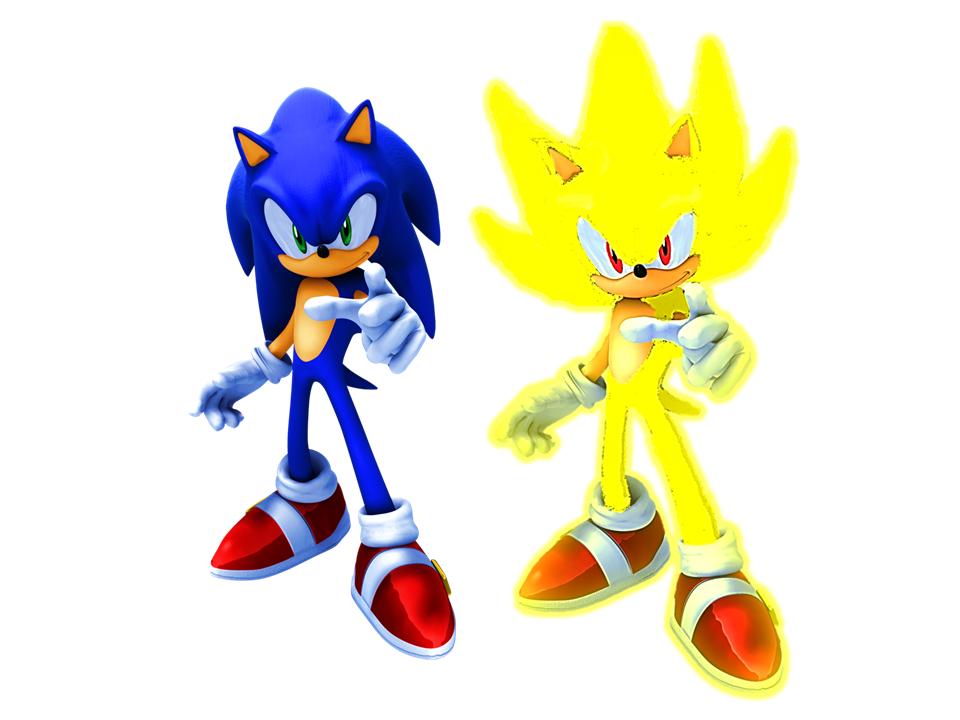 Modern sonic and super sonic by 9029561 on deviantart - Super sonic 6 ...