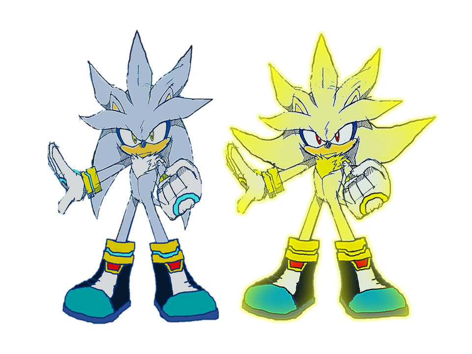 Silver and Super Silver by 9029561 on DeviantArt
