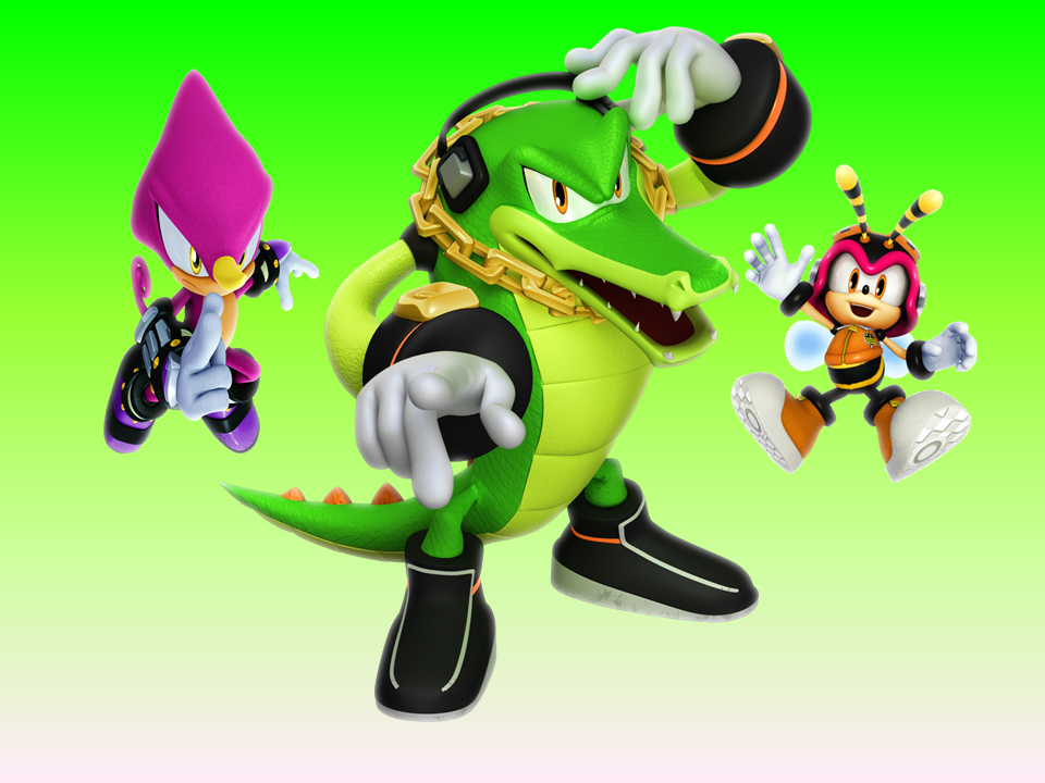 5 Team Chaotix Lime Wallpaper by 9029561 on DeviantArt